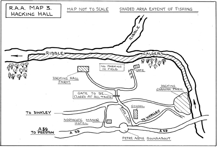 Hacking Hall River Map