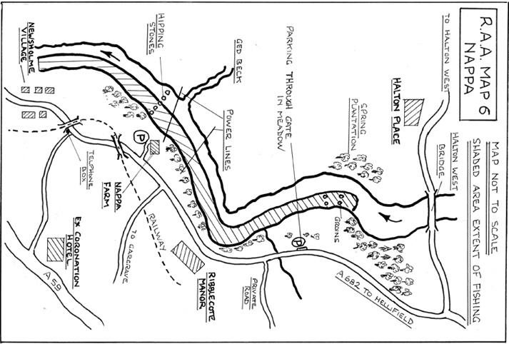 Nappa River Map