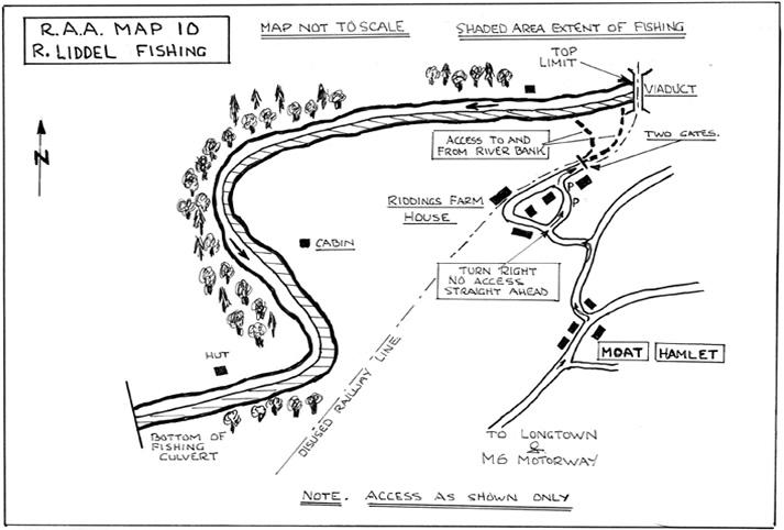 River Liddle River Map